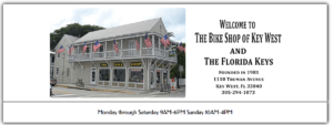 Photo of the exterior The Bike Shop Key West