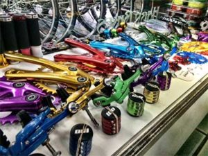 Photo of misc. bike parts